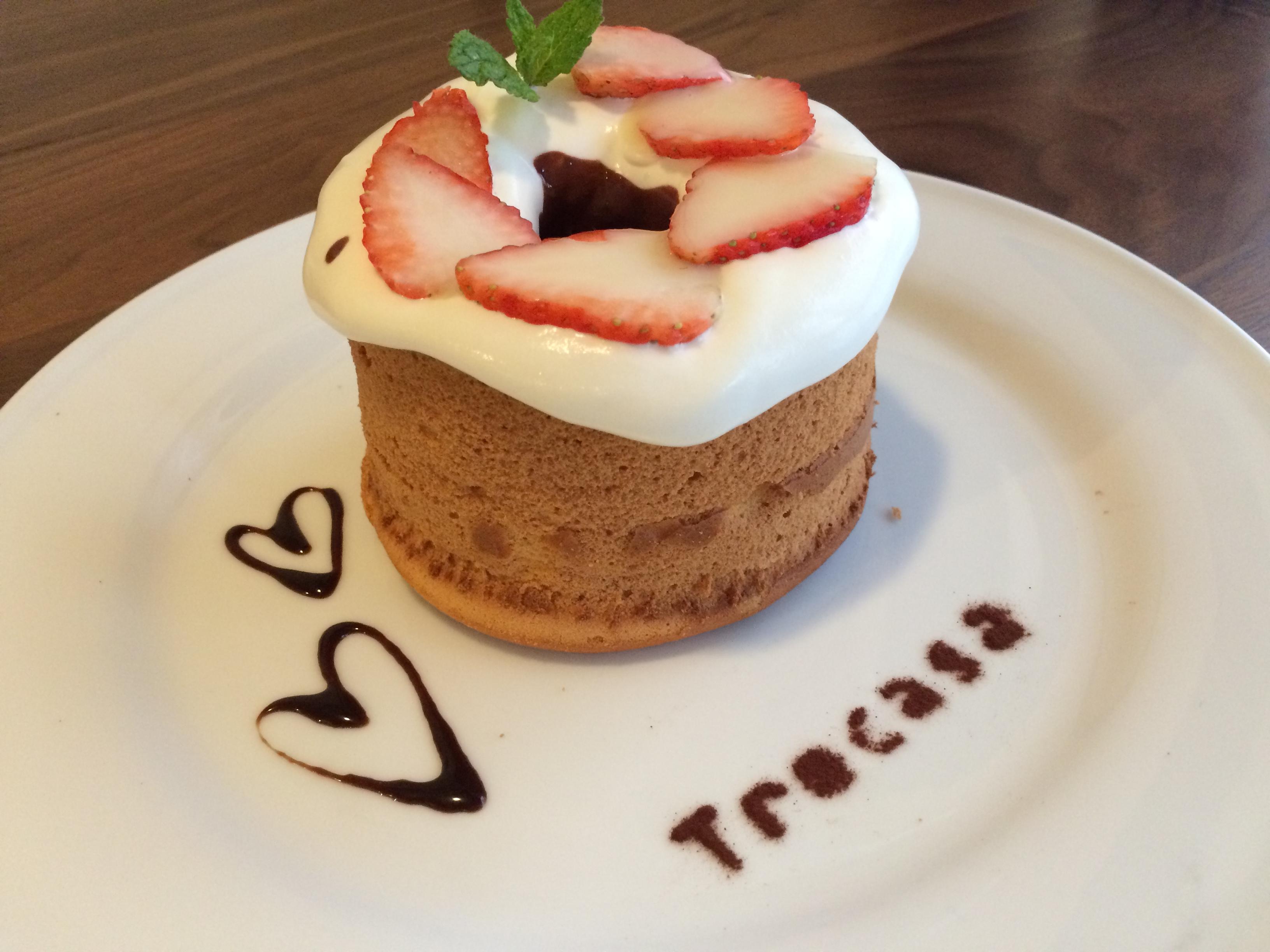 〈東広島〉シフォンケーキまるまる1つ食べれちゃうお店