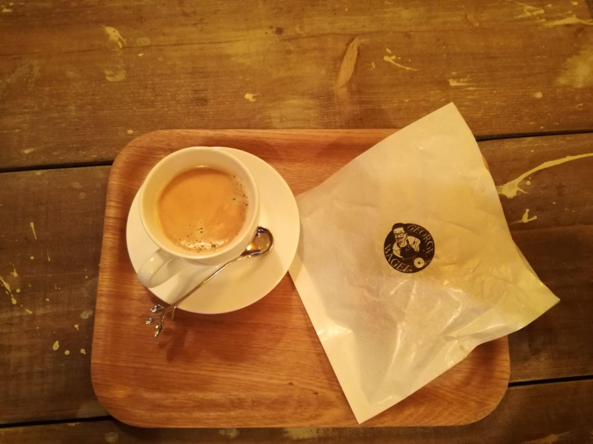 【大阪*桜川】こんなところにベーグルカフェ?斬新なベーグルが食べれちゃうジョージベーグル